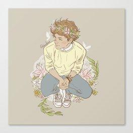 """ The Sun-Kissed Boy "" Canvas Print"