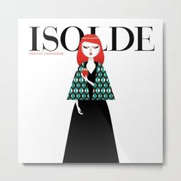 Isolde Metal Print