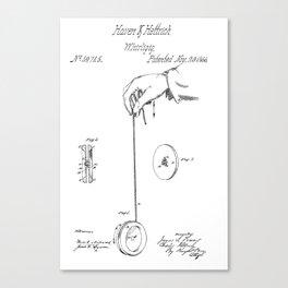Yo-Yo: Original Patent Canvas Print