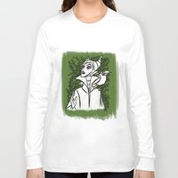 maleficent Long Sleeve T-shirts featuring Maleficent by carotoki art and love