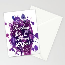 Rockin' this Mom Life Mother's Day Stationery Cards