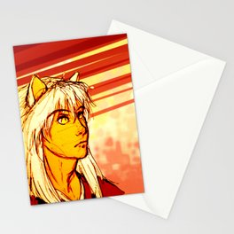 Demon Eyes Stationery Cards