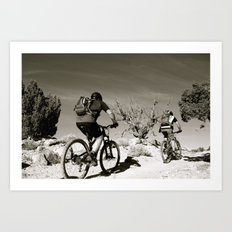 Western Rim 11082014 Art Print