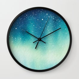 """ Northern Sky "" Wall Clock"