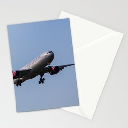 Virgin Atlantic Airbus A330 Stationery Cards
