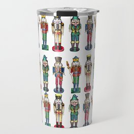 The Nutcracker Prince Pattern Travel Mug
