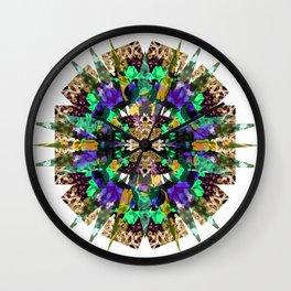 Flower Stellation  Wall Clock
