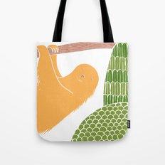 Sleepy Happy Sloth Tote Bag
