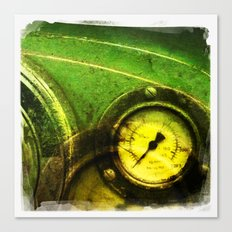 green dial Canvas Print