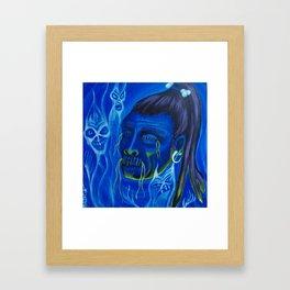 Shrunken Head Framed Art Print