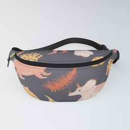 Dinos and Herbs Fanny Pack