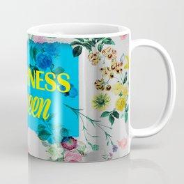 Alice Wonderland Floral Muchness Coffee Mug
