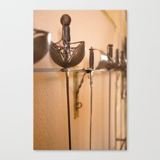 Fencing Master Canvas Print