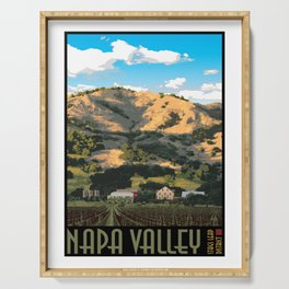 Napa Valley - Regusci Vineyards Serving Tray