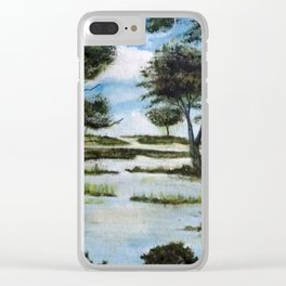 LA GAVIOTA Clear iPhone Case
