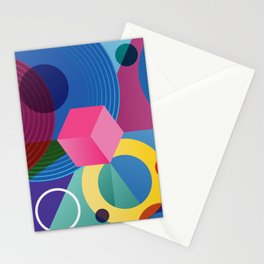 GEOMETRIC GROOVE 2 Stationery Cards