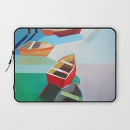 Five Boats Laptop Sleeve