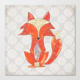 Zen Fox Revised Canvas Print