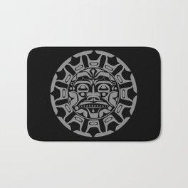 the sun symbol Bath Mat