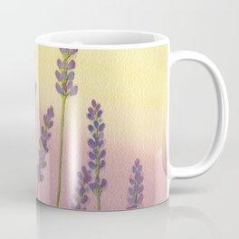 Lavender in Sunset Coffee Mug