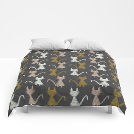 Cat pattern 2 Comforters