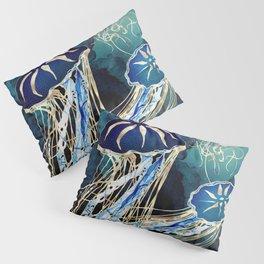 Metallic Jellyfish III Pillow Sham