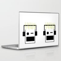 blondie Laptop & iPad Skins featuring Blondie by GPM Arts