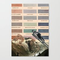 ski Canvas Prints featuring Ski by Sarah Brust