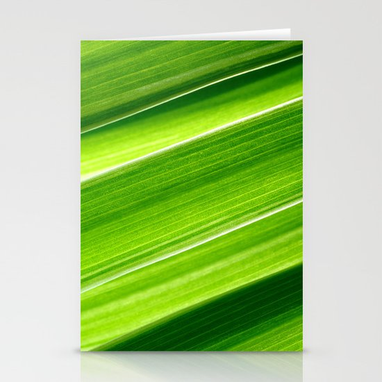 green grass IV Stationery Cards