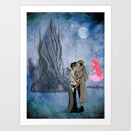 Saga Art Print