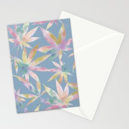 Mary Jane Blue Stationery Cards