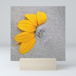 Sunflower in the Sand Mini Art Print