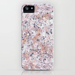 Granite pattern iPhone Case