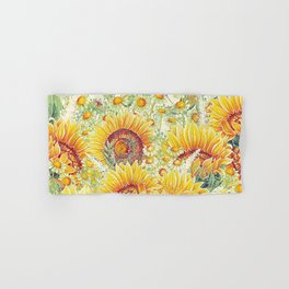 Vintage Garden (Sunflower Summer) Hand & Bath Towel