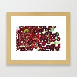 You are my cherry Framed Art Print