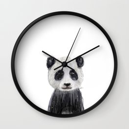 little panda Wall Clock