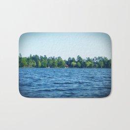 Lake Water View Color Photo Bath Mat