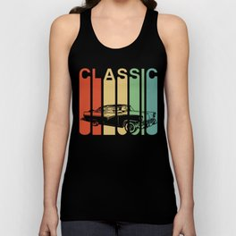 Classic Car American Automobile Vintage Car Gift Unisex Tank Top