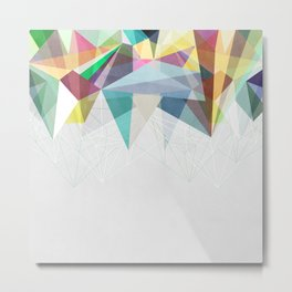 Colorflash 2 Metal Print