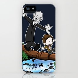 The Doctor and... I forget... iPhone Case