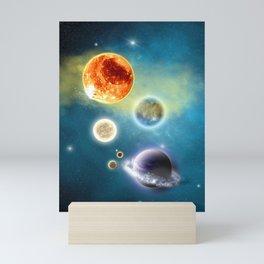 New Solar System Mini Art Print