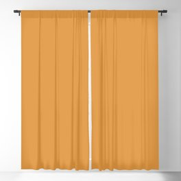 Butterscotch | Pantone Fashion Color | Fall : Winter 2019-2020 | London | Solid Color | Blackout Curtain