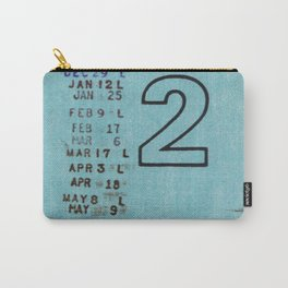 Ilium Public Library Card No. 2 Carry-All Pouch