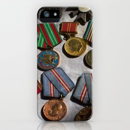 RussianMedals_Afghanistan iPhone Case