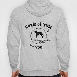 Circle of trust my Czechoslovakian Wolfdog Hoody