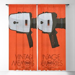 Vintage Memories Super 8 Blackout Curtain