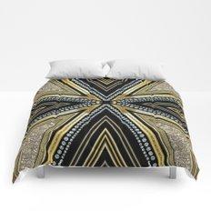 Glam Cross Star Comforters
