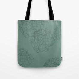 Blooming Botanical Floral Print Tote Bag