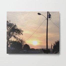 Blush Metal Print