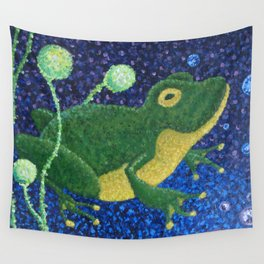 Ribbit Gribbit Wall Tapestry